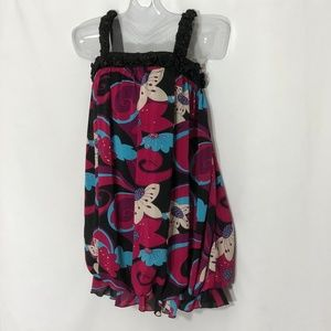 Baby Phat mini summer party dress floral w/rosette